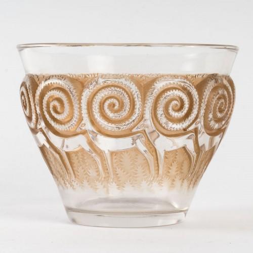 1933 René Lalique - Rennes Vase - Art Déco