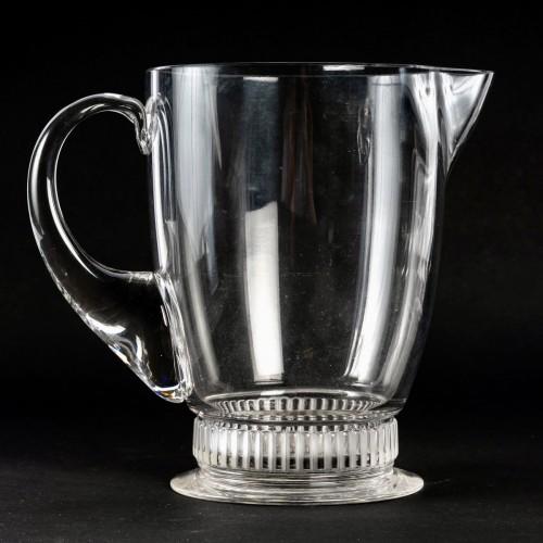 1931 René Lalique - Set Of 41 Pieces Bambou - Glass & Crystal Style Art Déco