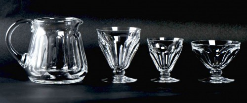 Antiquités - Baccarat - Talleyrand Crystal Set 37 Pieces