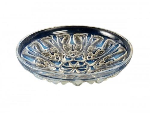 1930 René Lalique - Bowl Plate Angels