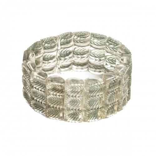 1928 René Lalique - Bracelet Palmettes
