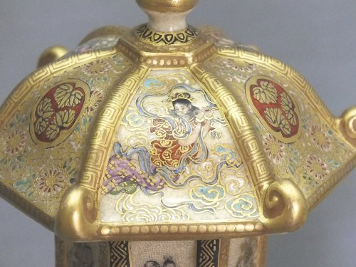 Satsuma (japan) - a pair of lanterns - Ép meiji - nineteenth century - Asian Art & Antiques Style