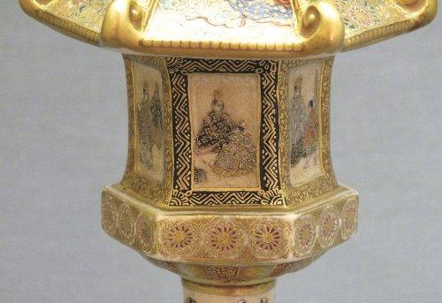 Antiquités - Satsuma (japan) - a pair of lanterns - Ép meiji - nineteenth century