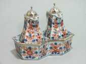 China - cruet set imari decoration - xviiith century