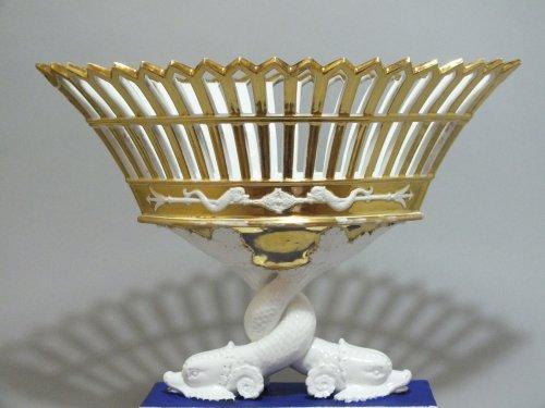 Paris - A pair of baskets dolphins - Empire period -
