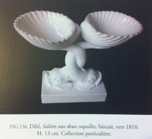 Antiquités - Paris - A pair of baskets dolphins - Empire period