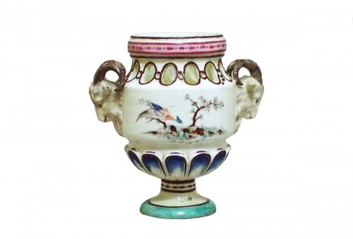 Sceaux - Vase pot pourri - soft paste - XVIII century