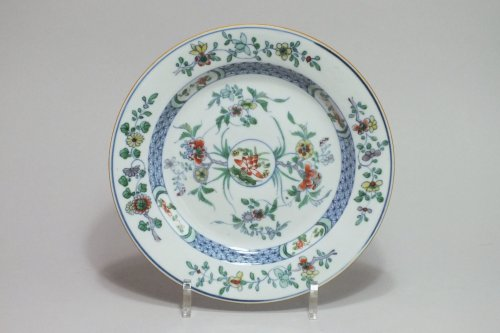 "Asian Art & Antiques  - CHINA - enamels Plate ""Doucai"" - Yongzheng Period (1723-1735)"
