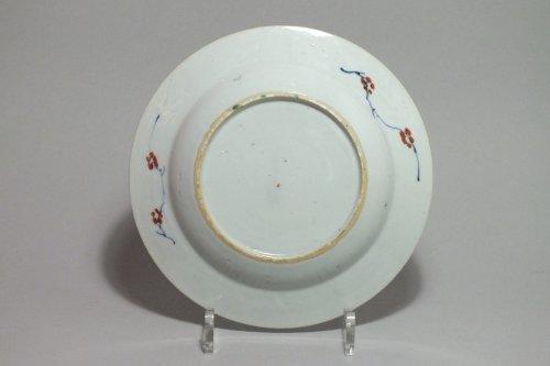 """CHINA - enamels Plate """"Doucai"""" - Yongzheng Period (1723-1735) -"""