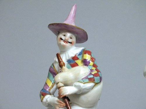 Meissen - Harlequin and Columbine - j.j Kandler - 18th century -