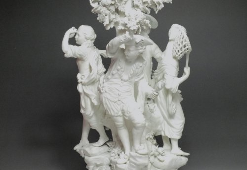 """Porcelain & Faience  - Derby - biscuit group """"The Four Elements"""" - eighteenth century"""