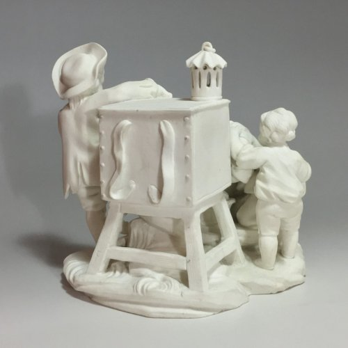 "Sèvres biscuit group ""The Magic Lantern"" 18th century - Louis XV"