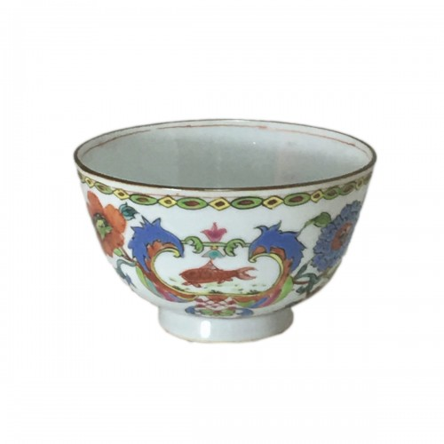 "China - Bowl decorated ""Pompadour"" - Period Qianlong (1736-1795)"