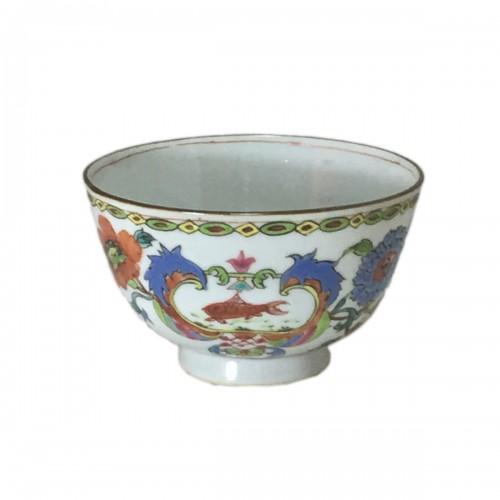 "China - Bowl decorated ""Pompadour"" - Period Qianlong (1736-1795)"