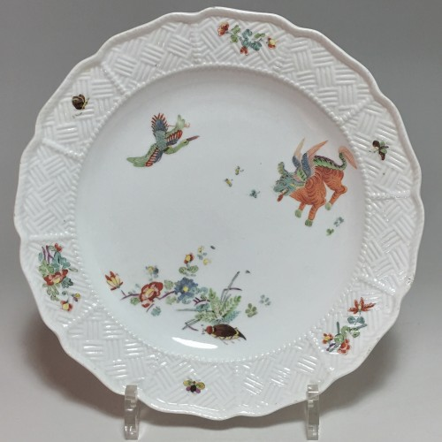 Pair of plates with Kakiemon decoration - Meissen 18th  century - Porcelain & Faience Style Louis XV