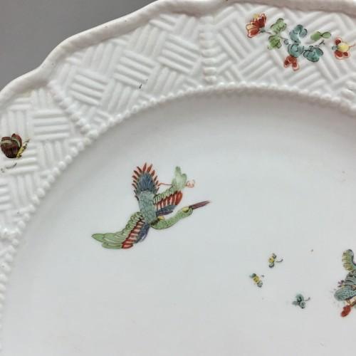 Pair of plates with Kakiemon decoration - Meissen 18th  century -