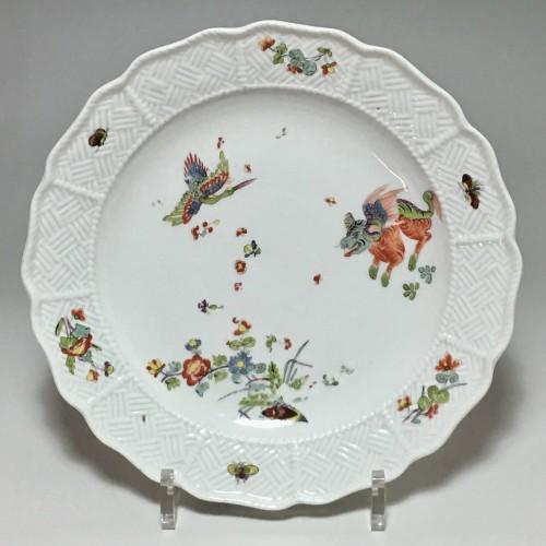 Louis XV - Pair of plates with Kakiemon decoration - Meissen 18th  century