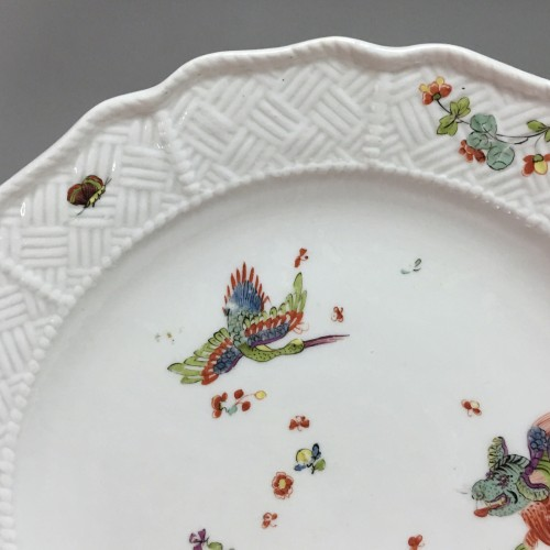Antiquités - Pair of plates with Kakiemon decoration - Meissen 18th  century