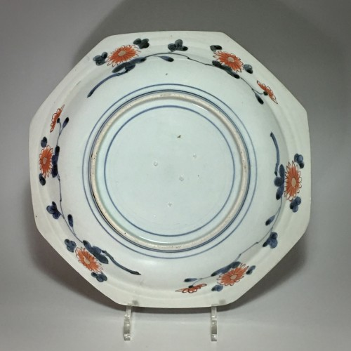 French Regence - Pair of large dishes with imari decoration - Japan Early eighteenth century
