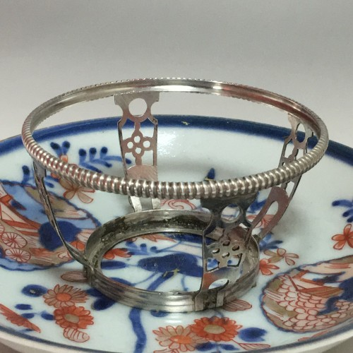Antiquités - China - Covered Goblet - Silver Mounted -  Paris 1722-1726