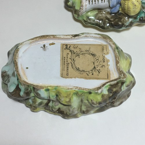 18th century - Sceaux - Covered Box spices - Chapelle Period - eighteenth century