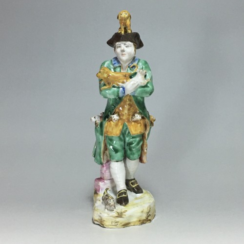Sceaux - Rare earthenware statuette - eighteenth centu - Louis XV