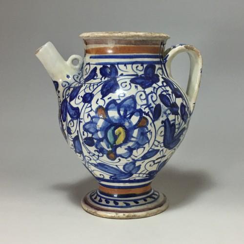 Majolica Chevrette from Lyon - Second half of the sixteenth century - Porcelain & Faience Style Renaissance