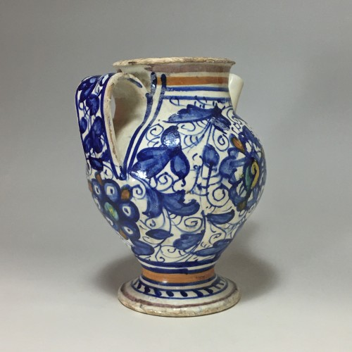 Porcelain & Faience  - Majolica Chevrette from Lyon - Second half of the sixteenth century