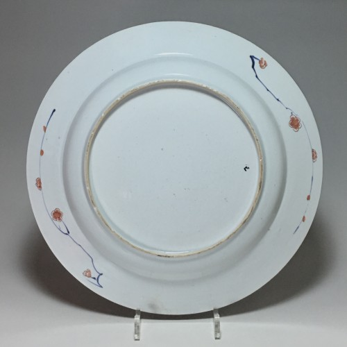 "Porcelain & Faience  - CHINA - Important dish ""Imari"" - Kangxi period (1662-17"