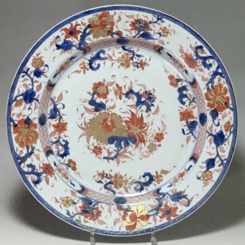 "CHINA - Important dish ""Imari"" - Kangxi period (1662-17 -"