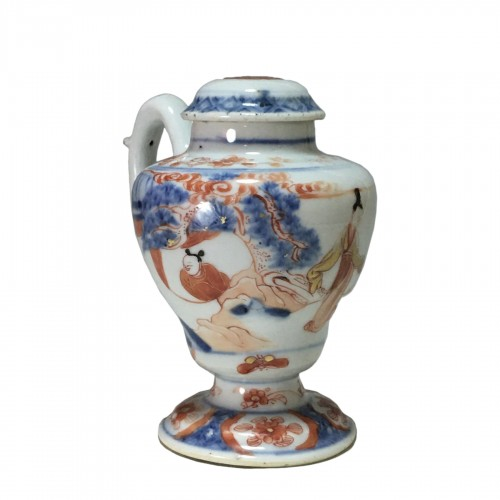 Moutardier en porcelaine de Chine - Époque Kangxi (1662- 1722)