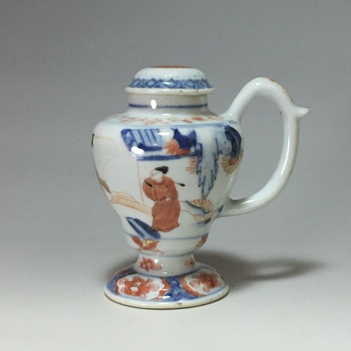 Moutardier en porcelaine de Chine - Époque Kangxi (1662- 1722) - Porcelain & Faience Style French Regence