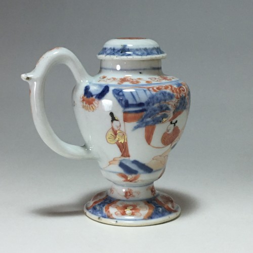 Porcelain & Faience  - Moutardier en porcelaine de Chine - Époque Kangxi (1662- 1722)