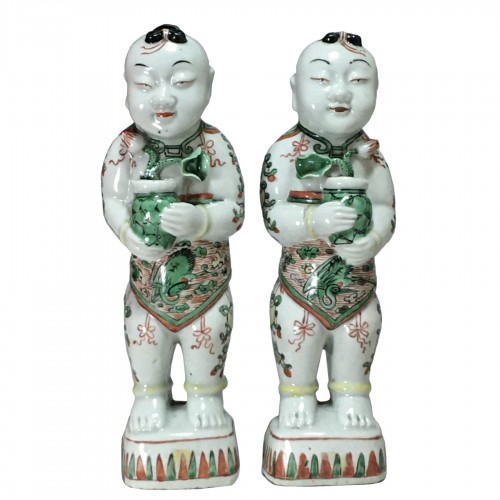"Pair of ""Hoho"" - China Kangxi period (1662 - 1722)"