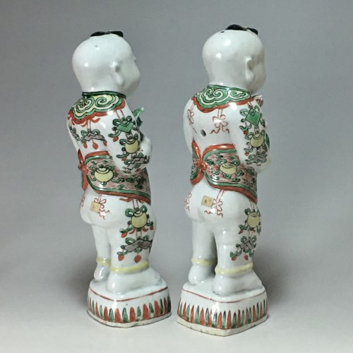 "Pair of ""Hoho"" - China Kangxi period (1662 - 1722) - French Regence"