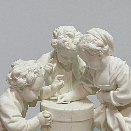Pair groups in Sèvres soft porcelain biscuit - eighteenth century -
