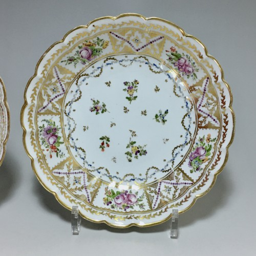 Porcelain & Faience  -  Pair of Porcelain Jattes - Bordeaux 18th century