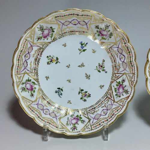 Pair of Porcelain Jattes - Bordeaux 18th century -