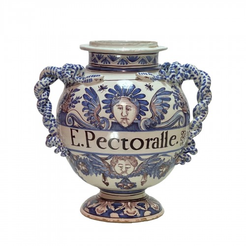 Montpellier - Olliver Factory - Large pharmacy vase - Around 1700