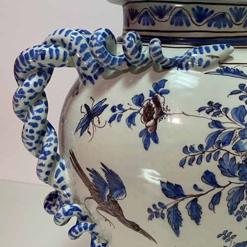 18th century - Montpellier - Olliver Factory - Large pharmacy vase - Around 1700