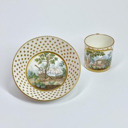 Porcelain & Faience  - Soft Sèvres porcelain litron goblet - Eighteenth century