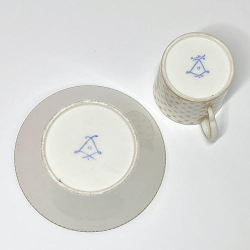 Soft Sèvres porcelain litron goblet - Eighteenth century -