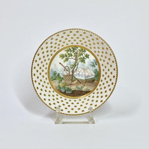 18th century - Soft Sèvres porcelain litron goblet - Eighteenth century