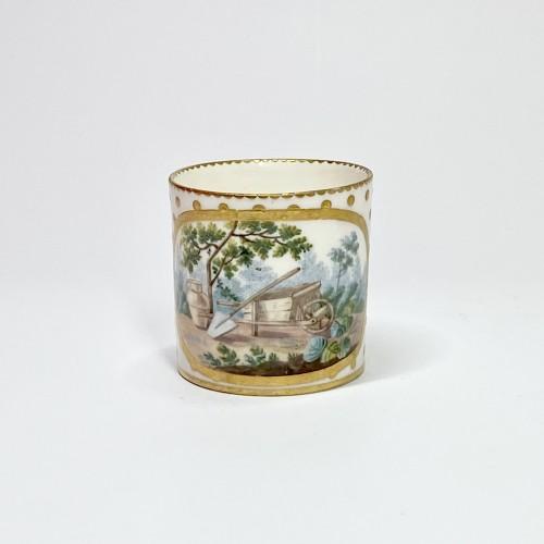 Soft Sèvres porcelain litron goblet - Eighteenth century - Louis XV