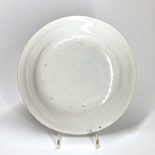 Alcora (Spain) - Dish with birds - Eighteenth century - Porcelain & Faience Style Louis XV
