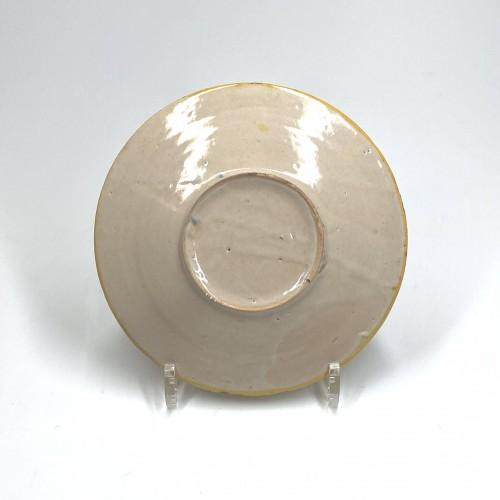Porcelain & Faience  - Small tondino in Venetian majolica - sixteenth century