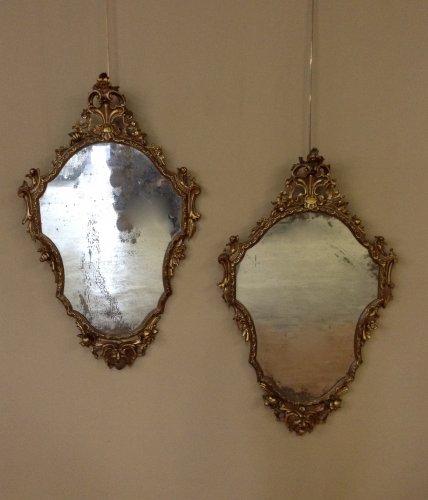Pair of  Louis XV mirrors