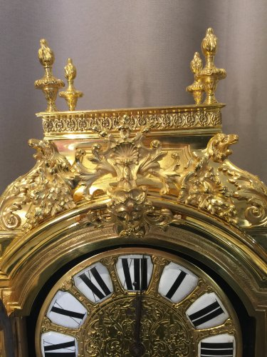 - Large 19th century gilt bronze clock by Lerolle Brothers Paris