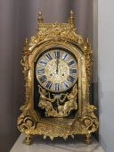 Large 19th century gilt bronze clock by Lerolle Brothers Paris