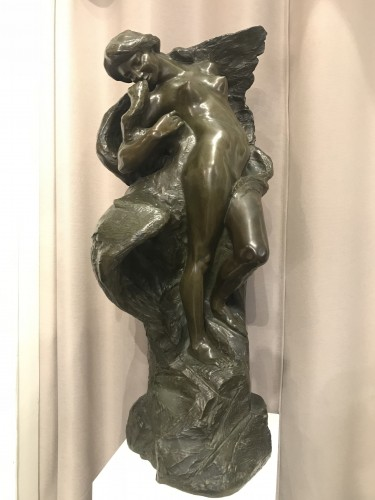 Jules HERBAYS (1866 - 1940) - Leda and the swan - Sculpture Style